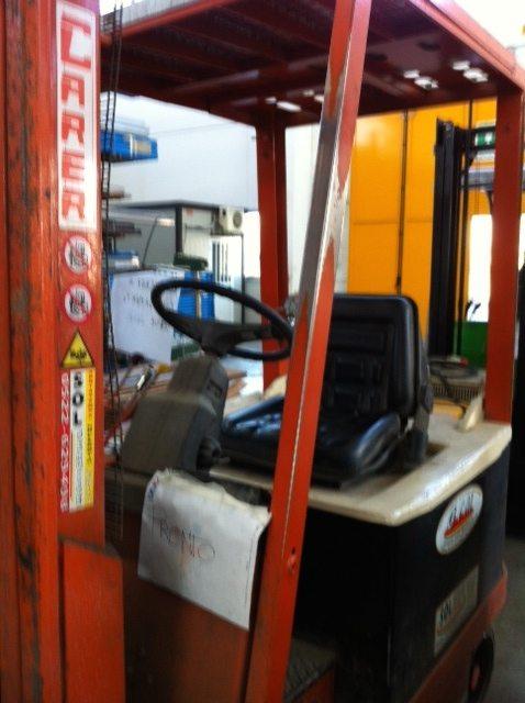 Carrello elevatore Carer usato - SGA Shopmetalshelves