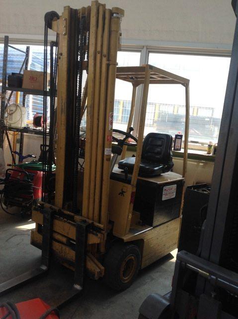 Muletto carrello elevatore Cesab frontale elettrico usato - SGA Shopmetalshelves