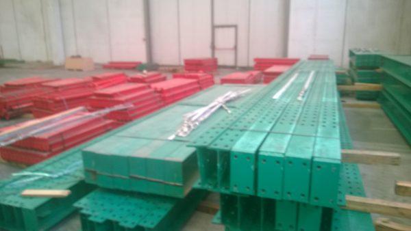 Scaffali usati cantilever colore verde - SGA Srl shopmetalshelves