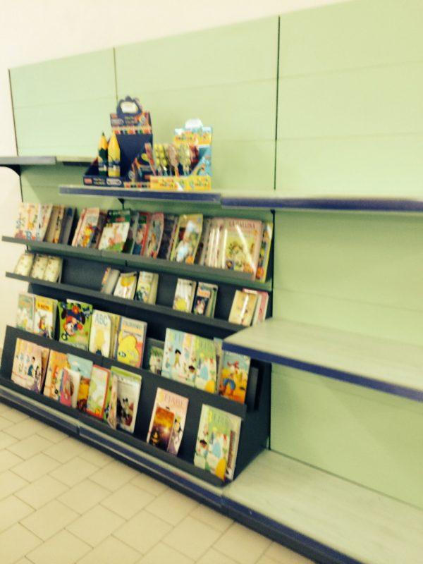 Scaffale portariviste usato - Shop metal shelves S.G.A. Srl