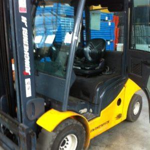 Muletto carrello elevatore frontale Jungheinrich diesel 3000Kg usato - SGA Shopmetalshelves