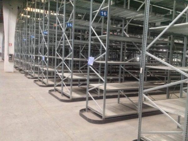 Scaffalatura leggera Metalsistem - SGA Shopmetalshelves