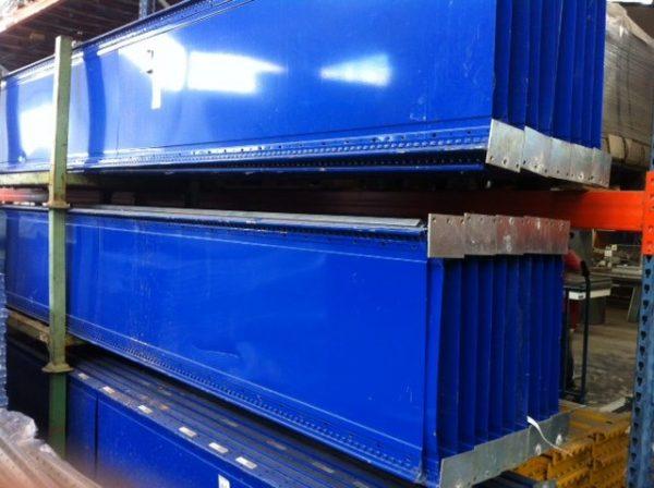 Scaffali leggeri zincati usati - SGA Srl Shopmetalshelves