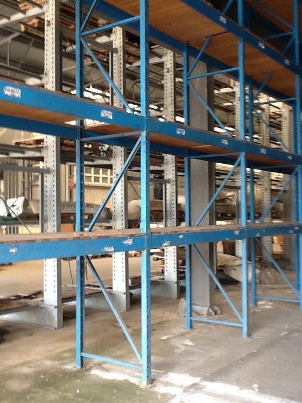 Scaffalatura usata smontata - SGA Shop Metal Shelves